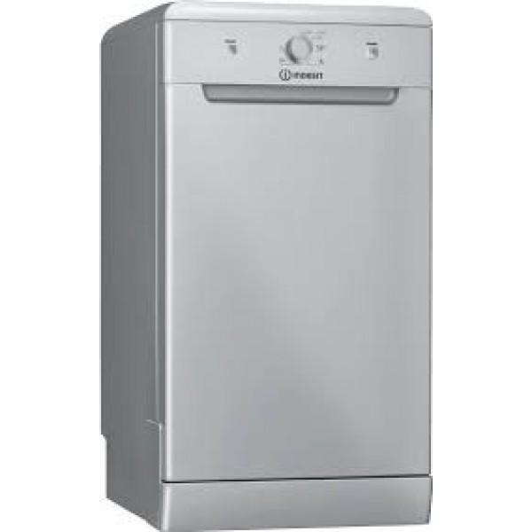 Indesit DSFE 1B10 S Ελεύθερο Πλυντήριο Πιάτων Silver
